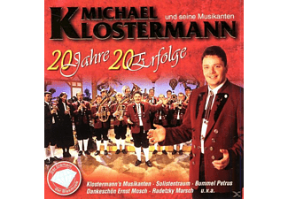MICHAEL u.s.Musikanten Klostermann - 20 Jahre-20 Erfolge  - (CD)