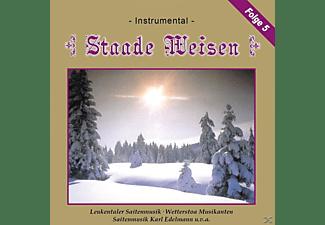 VARIOUS - Staade Weisen, 5-Instrumental  - (CD)