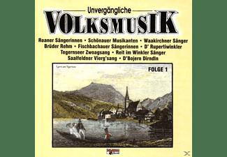 VARIOUS - Unvergängliche Volksmusik 1  - (CD)