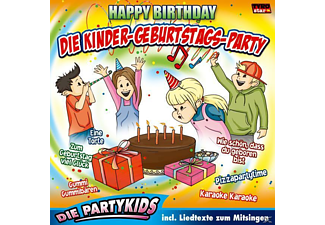 Die Partykids - Die Kinder-Geburtstags-Party/Happy Birthday - (CD)