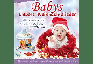 Babys Spieluhr - Babys liebste Weihnachtslieder  - (CD)