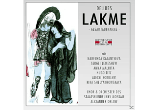 Chor & Orch.Des Staatsrundfunks Moskau - Lakme (Ga)  - (CD)