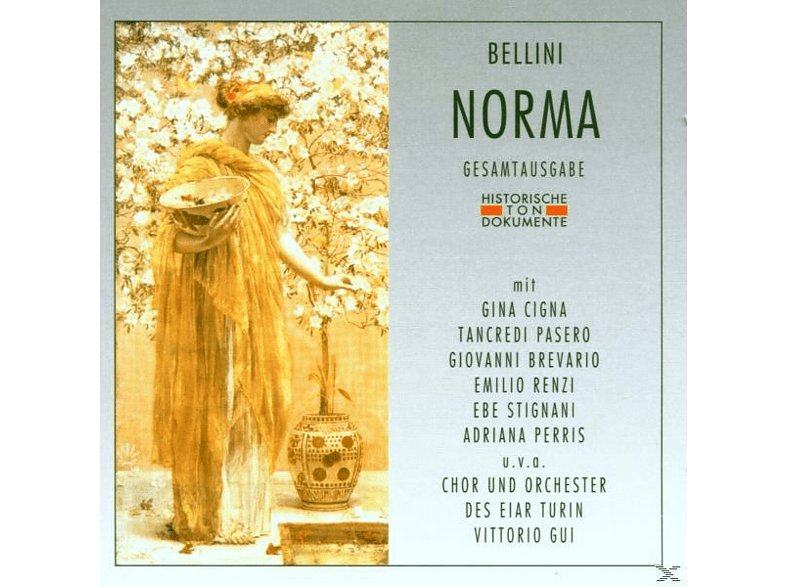 Gui, Cigna, Orch.Sinf.E Coro Dell'EIAR Di Torino - Norma (Ga) [CD]