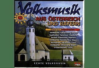 VARIOUS - Volksmusik A.Österr.& Bayern  - (CD)