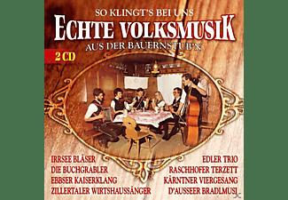 VARIOUS - Echte VM aus der Bauernstubn  - (CD)