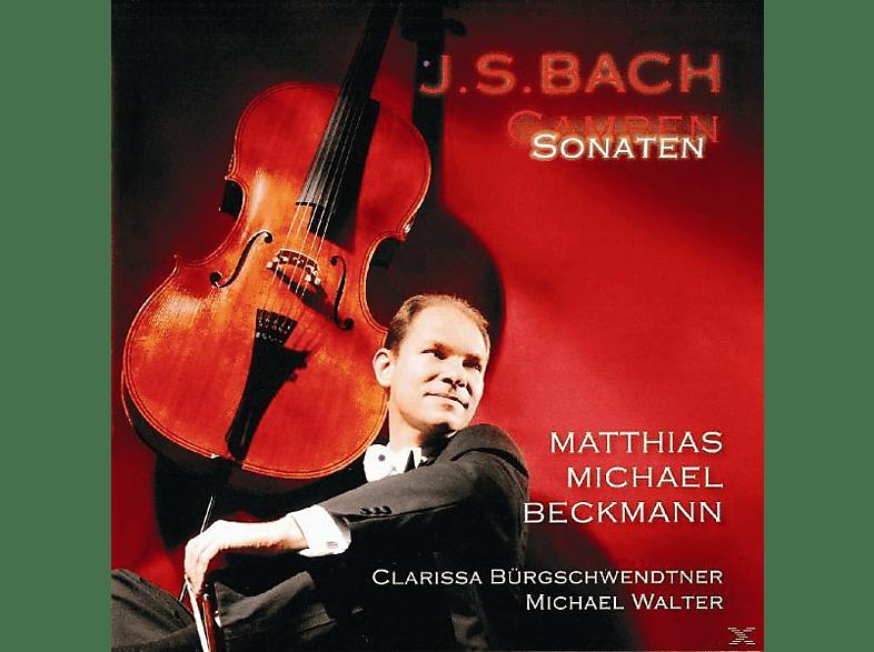 Walter, Bürgschwendtner, Matthias Michael Beckmann - Gambensonaten [CD]