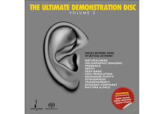 VARIOUS - Ultimate Demonstration Disc VoL. 2 (SACD HYBRID)  - (SACD Hybrid)