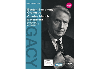 Charles/boston So Munch - Sinfonien 3+4  - (DVD)