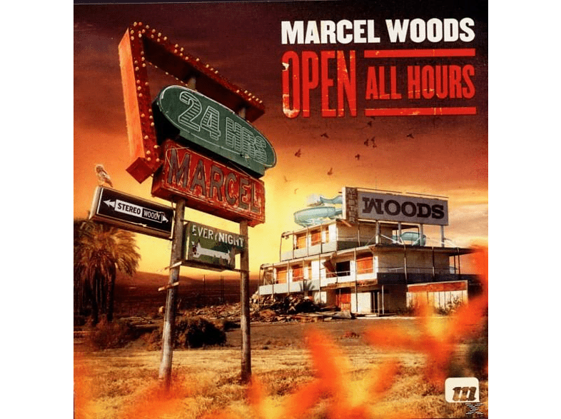 Marcel Woods - Open All Hours [CD]