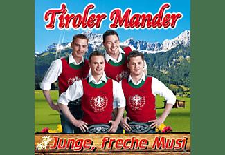 Tiroler Mander - Junge,freche Musi  - (CD)