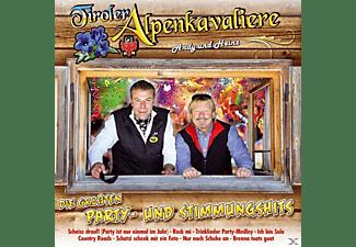 Tiroler Alpenkavaliere - Die größten Party-und Stimmungshits  - (CD)