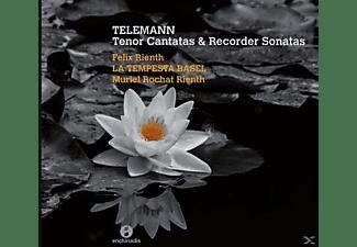 Rienth/Rienth/La Tempesta Basel - Tenor Cantatas & Recorder Sonatas  - (CD)