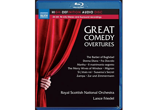 Lance/royal Scottish National Orchestra Friedel - Great Comedy Overtures - (Blu-ray Audio)