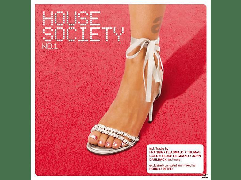 VARIOUS - house society no.1 [CD]