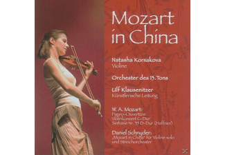 Natasha & Orchester Des 13.Tons Korsakova - Mozart In China - (CD)