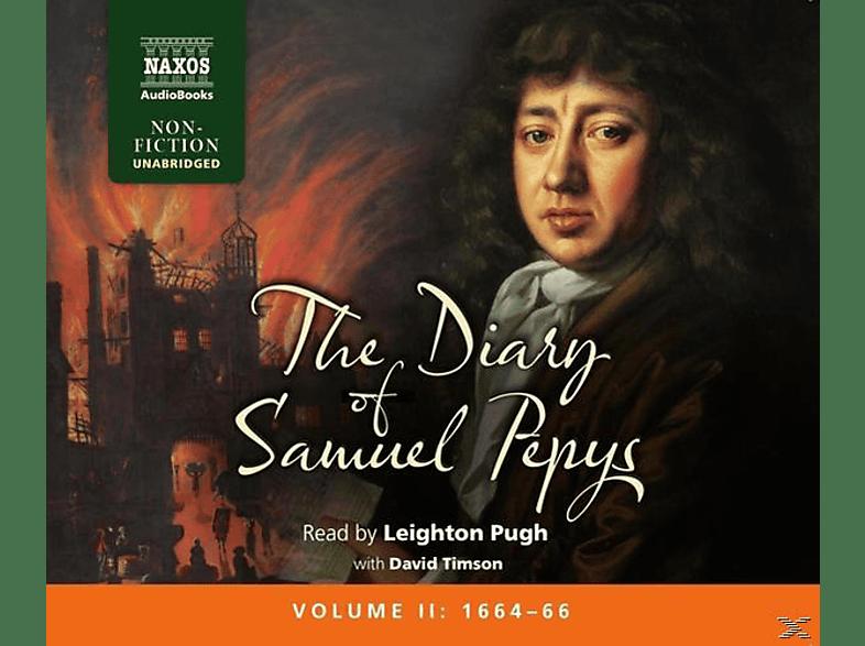 Leighton Pugh - The Diary Of Samuel Pepys: Vol.2 - (CD)
