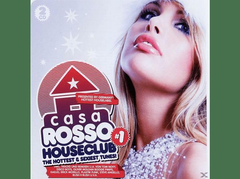 VARIOUS - casa rosso houseclub [CD]
