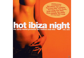 VARIOUS - hot ibiza night vol.1  - (CD)