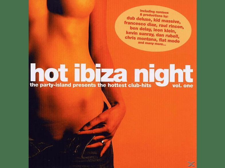 VARIOUS - hot ibiza night vol.1 [CD]
