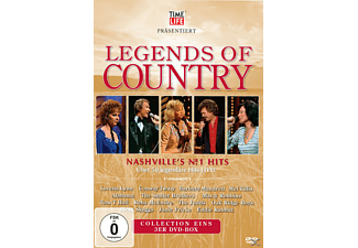 VARIOUS - Legends Of Country  - (DVD)