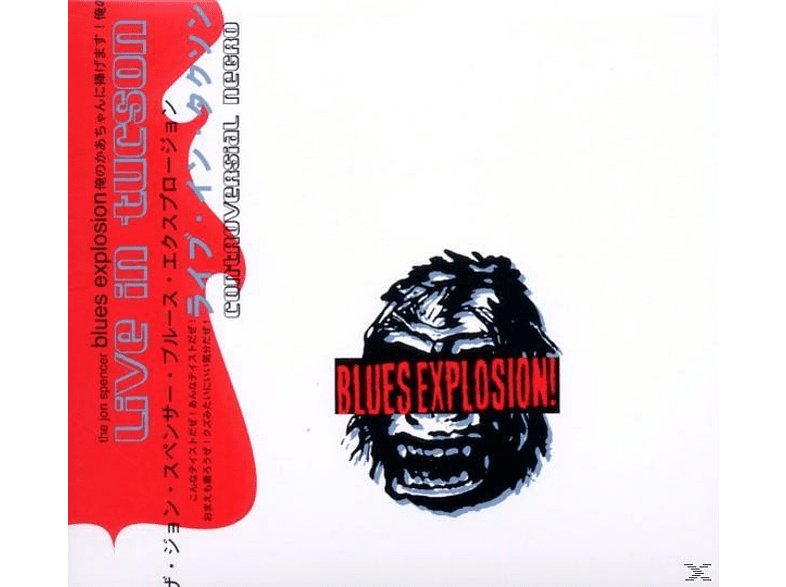 The Jon Spencer Blues Explosion - Controversial Negro-Live (Remastered & Expanded) [CD]