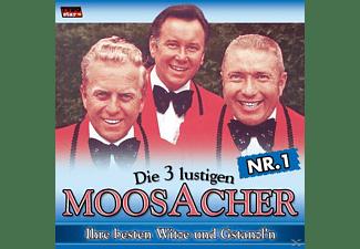 Die 3 Lustigen Moosacher - Ihre Besten Witze U.Gstanzl 1  - (CD)