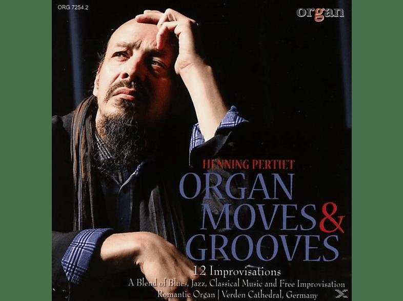 Henning Pertiet - Organ Moves & Grooves-12  Improvisations [CD]
