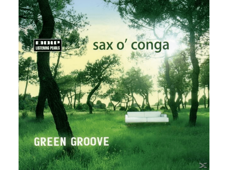 Sax O 'conga - Green Groove [CD]