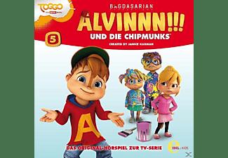 Alvinnn!!! Und Die Chipmunks - (5)Hörspiel z.TV-Serie-Meine Verrückte Schwester  - (CD)