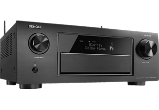 DENON AVR-X 6300 H AV-Receiver (11.2 Kanäle, 205 Watt pro Kanal, Schwarz)