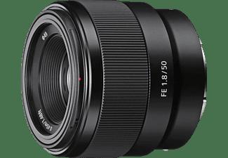 Objetivo EVIL - Sony FE 50mm f/1.8, Negro