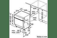 BOSCH SBI46IS03E 4 Geschirrspüler (teilintegrierbar, 598 mm breit, 44 dB (A), A++)
