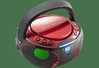LENCO SCD-550 Radiorecorder, Rot
