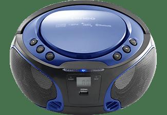 LENCO SCD-550 Radiorecorder, Blau