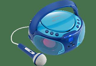 LENCO SCD-650 Radiorecorder, Blau