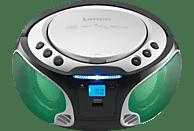 LENCO SCD-550 Radiorecorder, Silber