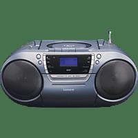 LENCO SCD-680 DAB+ mit Kassettendeck Radiorecorder (Grau)