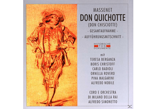 VARIOUS - Don Quichotte (Don Chisciotte)  - (CD)