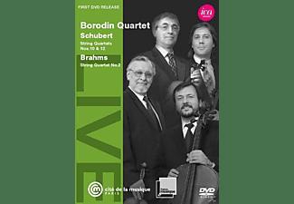 Borodin Quartet - String Quartetts Nos. 10 & 12  - (DVD)