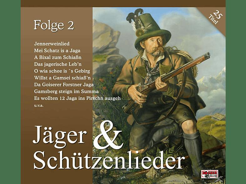 VARIOUS - Jäger & Schützenlieder, Folge 2 [CD]
