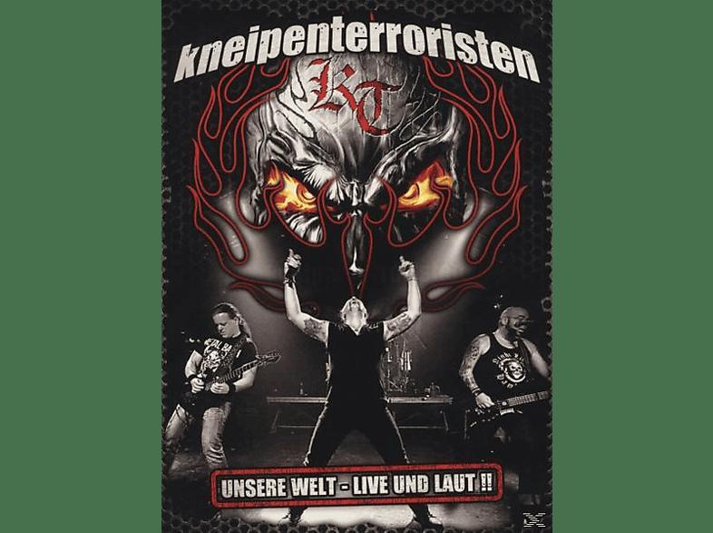 Kneipenterroristen - Unsere Welt - Live Und Laut!! [DVD + CD]