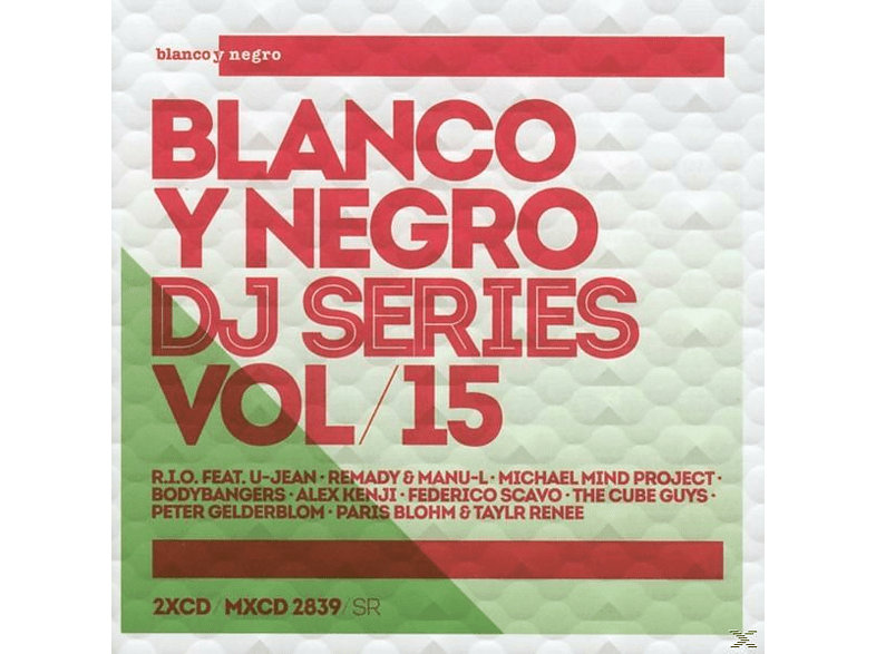 VARIOUS - Blanco Y Negro DJ Series Vol.15 [CD]