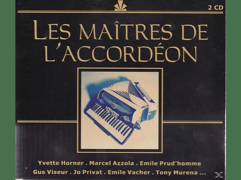 VARIOUS - Les Maitres De L'accordeon [CD]