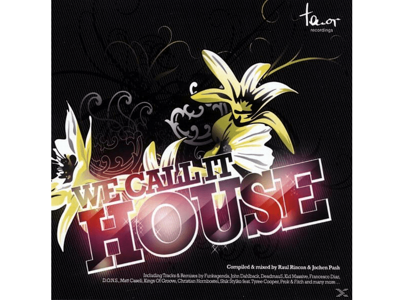 VARIOUS - We Call It House [CD]