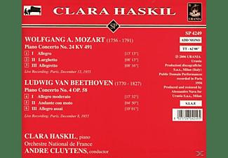 Orchestre National De Fran Clara Haskil (klavier) - Haskil und Cluytens  - (CD)