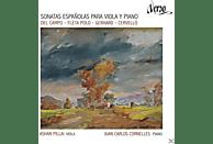 Pillai,Ashan/Cornelles,Juan Carlos - Spanische Sonaten für Bratsche [CD]