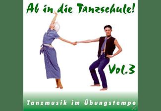 Klaus Tanzorchester Hallen - Ab In Die Tanzschule! Vol.3  - (CD)