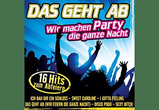 VARIOUS - Das Geht Ab-Wir Machen Party Die Ganze Nacht  - (CD)