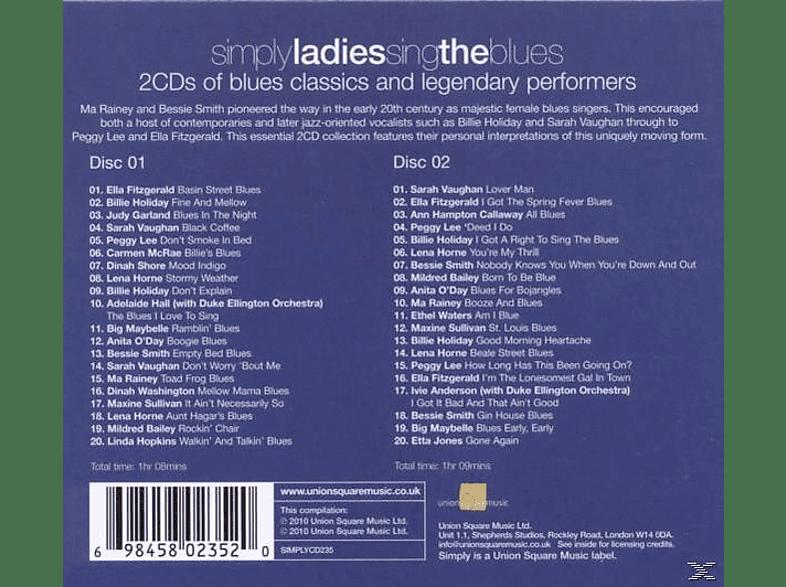 VARIOUS - Simply Ladies Sing The Blues (2cd) [CD]