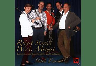 Stark Ensemble - Quintets, Serenade, Dances For Clarinet, Quartet And Quitet  - (CD)